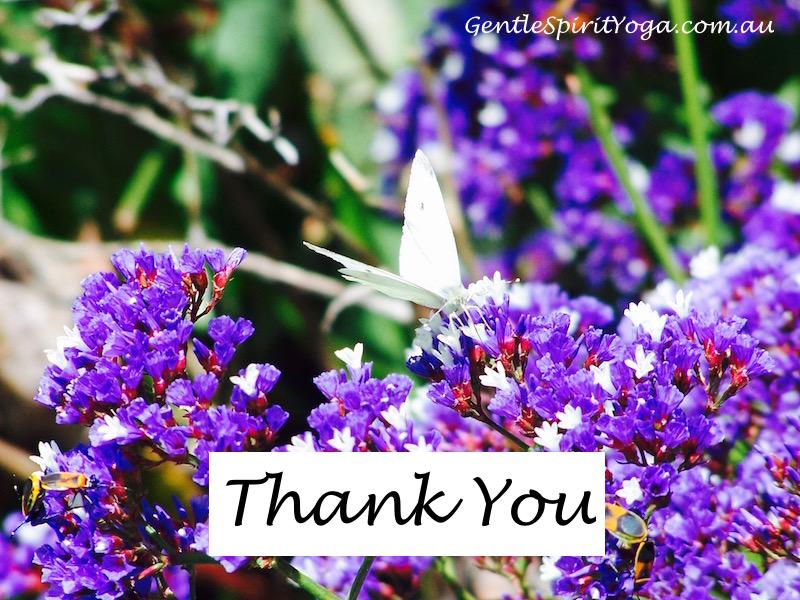 Gentle Spirit Yoga ~ celebrating gratitude