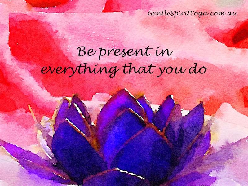 Gentle Spirit Yoga blog Eight Limbs Of Yoga Lotus Flower