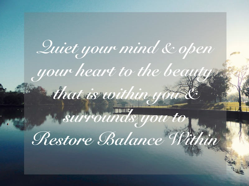 Gentle Spirit Yoga Restore Balance Within